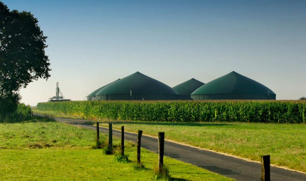 Afstandsbediening voor biogasinstallatie
