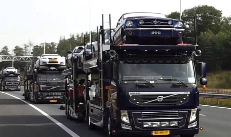 draadloze lierbediening transportwagen