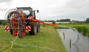 Op afstand bedienbare drainagereiniger