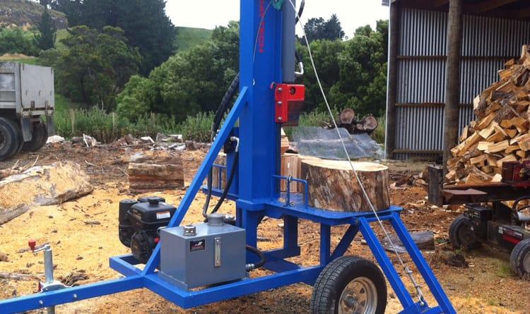Afstandsbediening houtkloofmachine