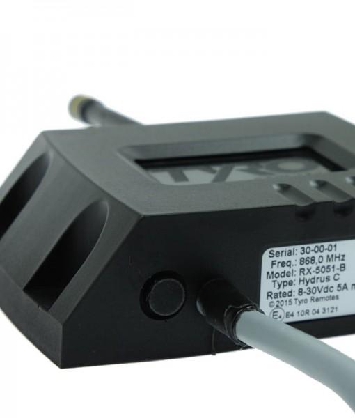 Hydrus compacte waterdicht 2 kanaals ontvanger tyro remotes - Ontvanger x ...