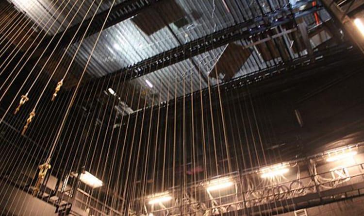 afstandsbesturing voor lieren in theater