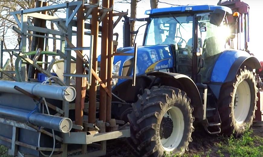 Afstandsbesturing voor tractors