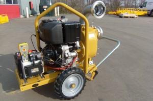 afstandsbediening vuilwaterpomp
