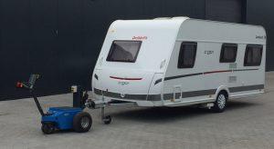Transportwagen om caravans mee te trekken
